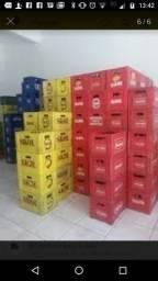 Cx completa de cerveja com 24 garrafas 600ml
