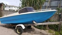 Casco lancha barco - 1986