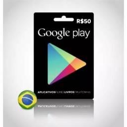 Giftcard Google Play 50