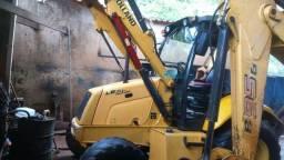 Retro escavadeira.2010.4x4