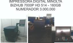 Impressora Digital Minolta BizHub 7000P