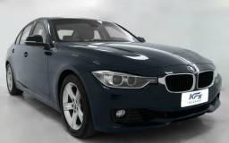 BMW 320i Active Flex Blindada 2014 Azul Completa - 2014