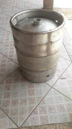 Barril de chopp 50l em aço inox