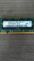 Emoria Ddr2 2gb Pc2 6400 Pc2-6400 800mhz Para Notebook