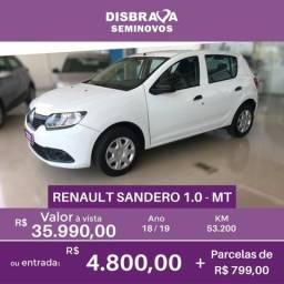 Renault Sandero Authentique - 2019