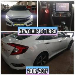 New Civic touring turbo 16/17 R$ 98.990,00 - 2017