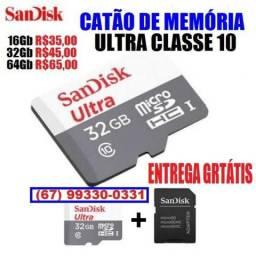 Cartão de Memória Ultra (entrega grátis)