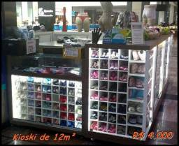 Quiosque de Shopping MDF