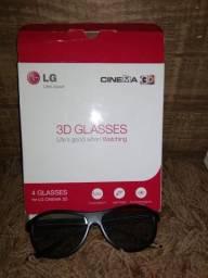 4 óculos 3d originais da LG