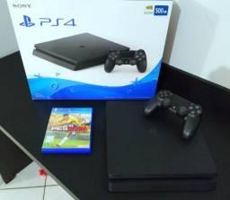 PlayStation 4 Slim 500GB + 1 jogo