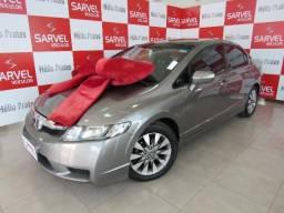 Honda Civic 1.8 LXL Automatico, borboletas. top de linha - 2011