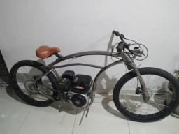 Bicicleta Chopper Motorizada