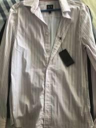 Camisa social armani exchange