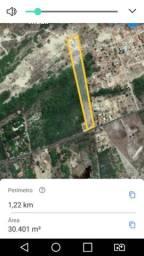 Vendo terreno na estrada da Prainha