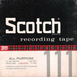 """Fitas para gravador de rolo Scotch 7"""""""