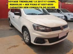 Voyage 1.6 TrendLine 2017 Unica Dona.