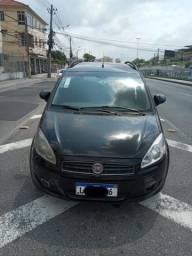 Fiat Ideia Attractive 2013 1.4 com Gnv Ex Taxi completa
