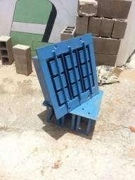 Formas para máquinas de fazer blocos de cimento