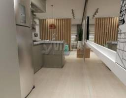 Apartamento à venda com 1 dormitórios em Príncipe de gales, Santo andré cod:55941