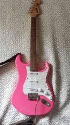 Guitarra Tagima Memphis Mg22 Rosa