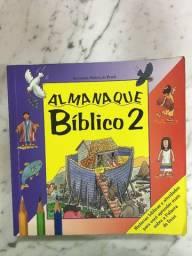Almanaque Bíblico 2. Infantil usou pouco R$10,00 C. Frio