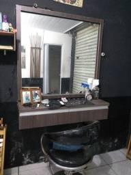 Bancada cadeira e lavatório