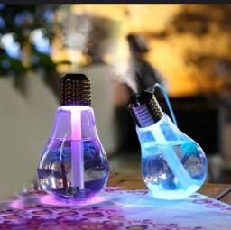 Aromatizador e luminária