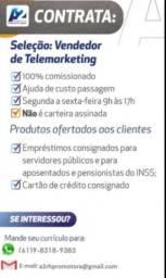 Vendendor de telemarketing
