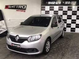 Renault Sandero 1.0 Completo ou S/ entrada 48x890,00