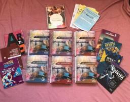 Coleção de livros sas para vestibular