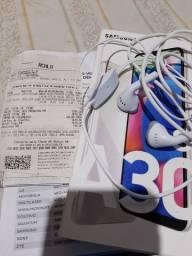 Vendo ou troco , Samsung A30s completo um mês de comprado  leia