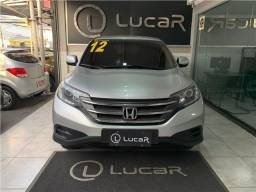 Honda crv 2012 - completa -automatico-banco de couro -multimidia -2020 vist
