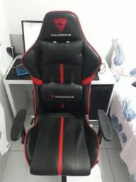 Cadeira ThunderX3 BC3 Preta c/ Vermelho