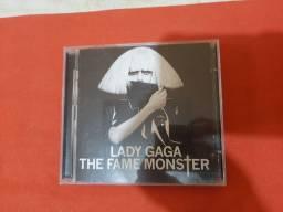 CD Lady Gaga - The Fame Monster Edição. Internacional