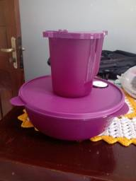 Kit duas Tupperware microondas