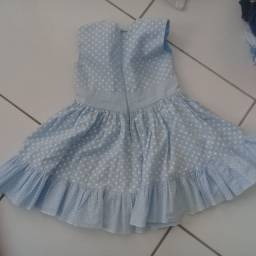 Vestido infantil 2 anos