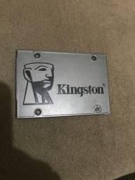 Ssd kingston 120 com erro