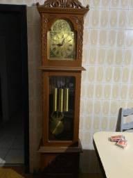 Relógio cordas grande antiguidade
