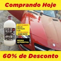 Polimento Simples, Efeito Teflon + ESPELHAMENTO Dourados ms
