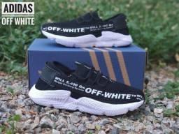 Tenis (Leia a Descrição) Adidas Off White Várias Cores Novo