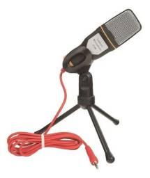 Microfone Sf 666 Condensador Preto Semi novo