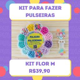 Kit Para Fazer Pulseiras