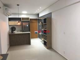 Apartamento semi mobiliado no Vieiralves de 1 dormitório para alugar, R$ 3.000,00