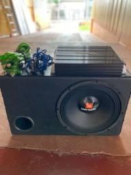 Caixa de som alto-falante JBL + Módulo