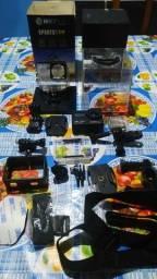 Camera de ação e webcam hoopson