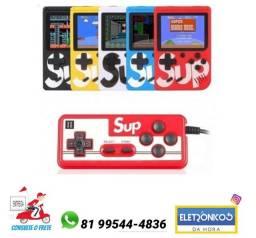 Video Game Super Mini, 620 Jogos 8 Bits 2 Controles só zap