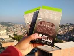 Mini Teclado Tv Smart e Box Com Led Novo aceito cartão