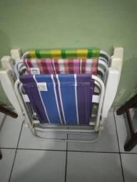Cadeira de praia usada (R$25,00)