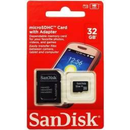 Cartão de memória de 32 GB