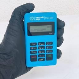 Máquina de cartão point mini d150 do mercado pago